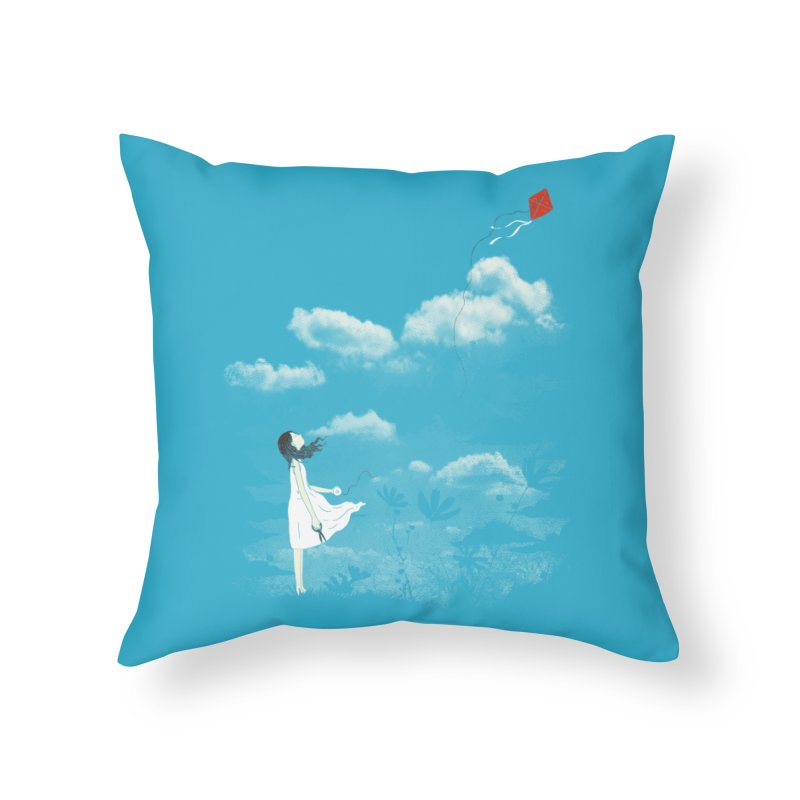 Let Go Home Throw Pillow by ilovedoodle's Artist Shop