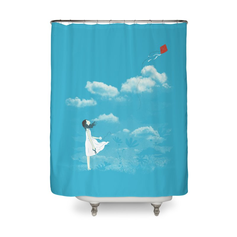 Let Go Home Shower Curtain by ilovedoodle's Artist Shop