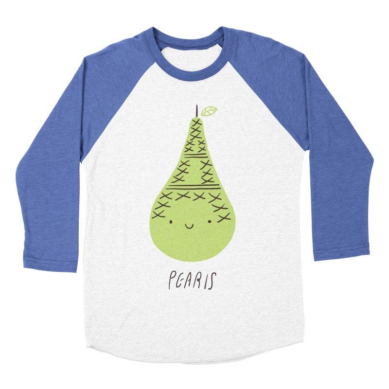 Pearis Women's Baseball Triblend T-Shirt by ilovedoodle's Artist Shop