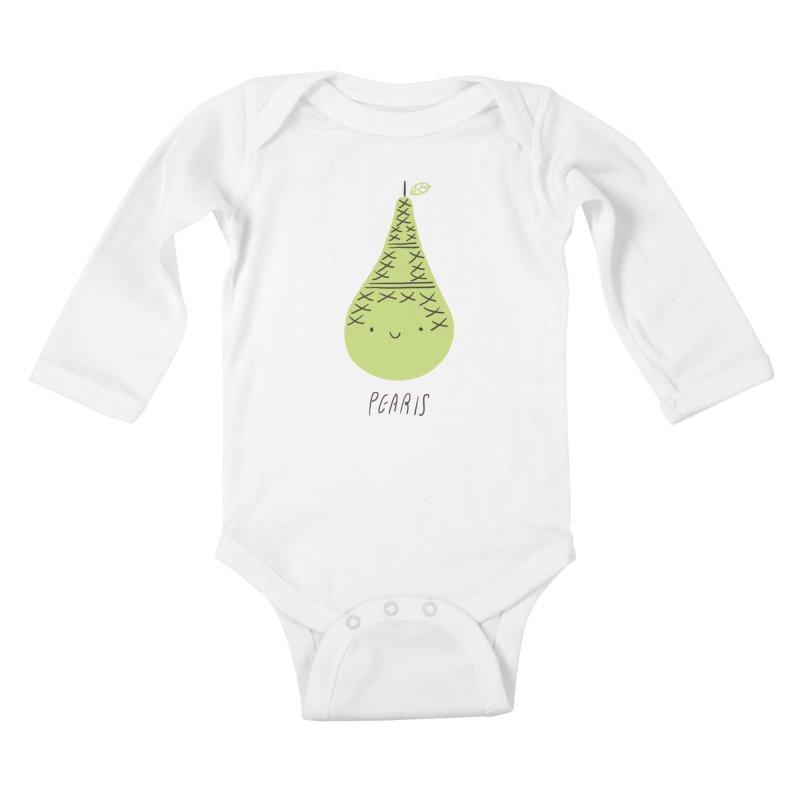 Pearis Kids Baby Longsleeve Bodysuit by ilovedoodle's Artist Shop