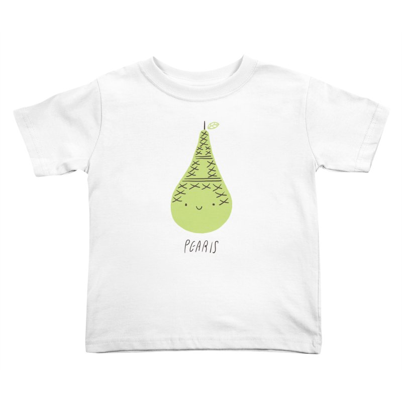 Pearis Kids Toddler T-Shirt by ilovedoodle's Artist Shop