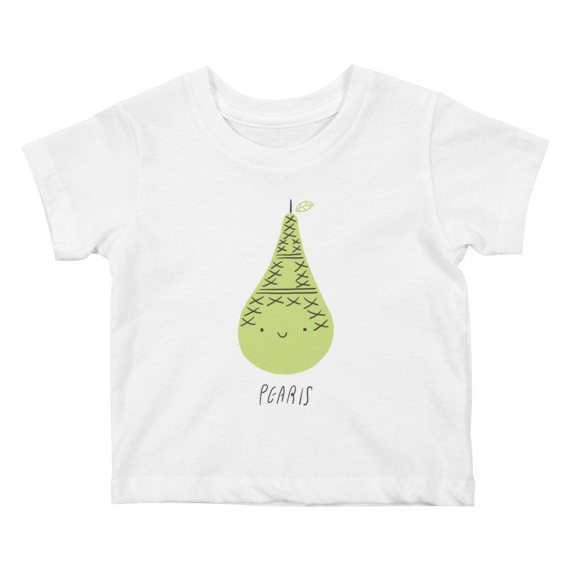 Pearis Kids Baby T-Shirt by ilovedoodle's Artist Shop