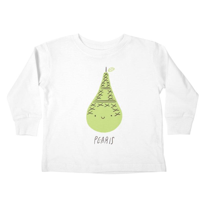 Pearis Kids Toddler Longsleeve T-Shirt by ilovedoodle's Artist Shop