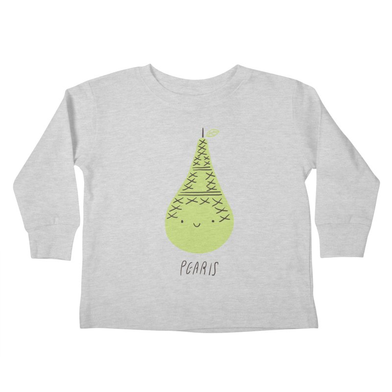 Pearis Kids Toddler Longsleeve T-Shirt by ilovedoodle's Artist Shop