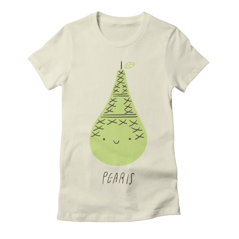 Pearis Women's Fitted T-Shirt by ilovedoodle's Artist Shop