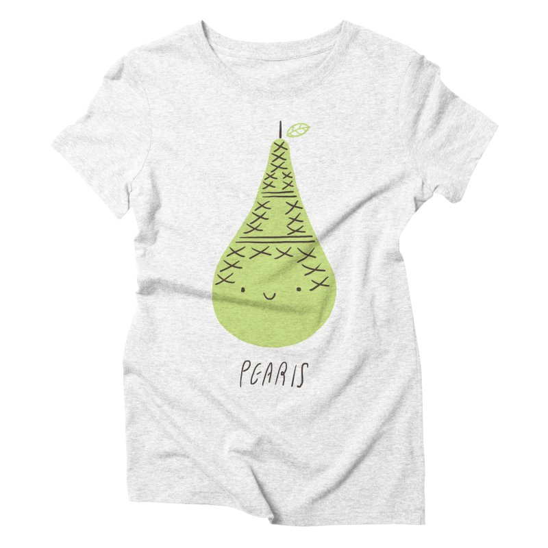 Pearis Women's Triblend T-shirt by ilovedoodle's Artist Shop
