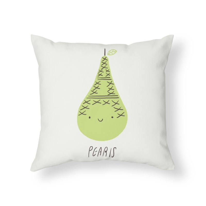 Pearis Home Throw Pillow by ilovedoodle's Artist Shop
