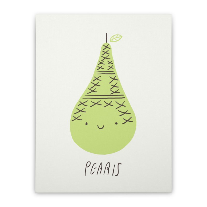 Pearis Home Stretched Canvas by ilovedoodle's Artist Shop