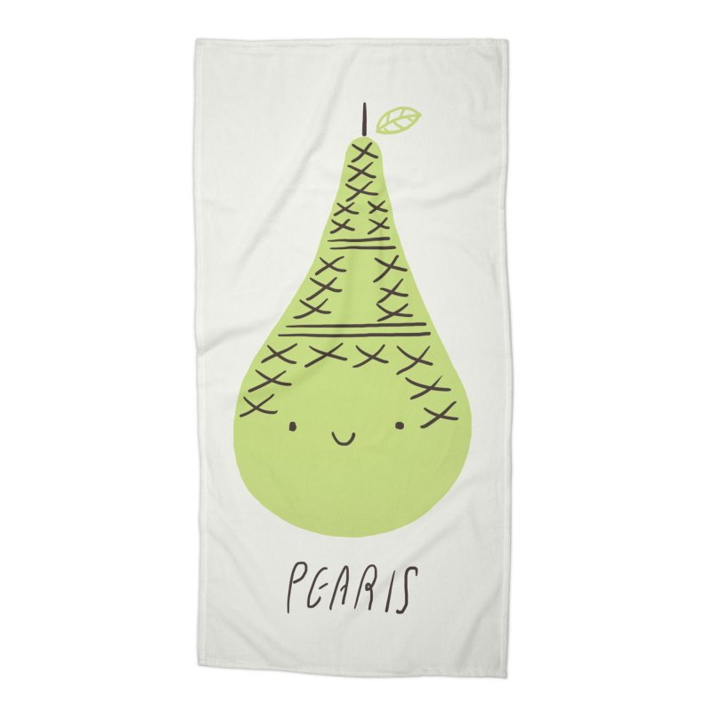 Pearis Accessories Beach Towel by ilovedoodle's Artist Shop