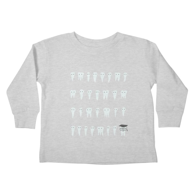 Wisdom Tooth Kids Toddler Longsleeve T-Shirt by ilovedoodle's Artist Shop