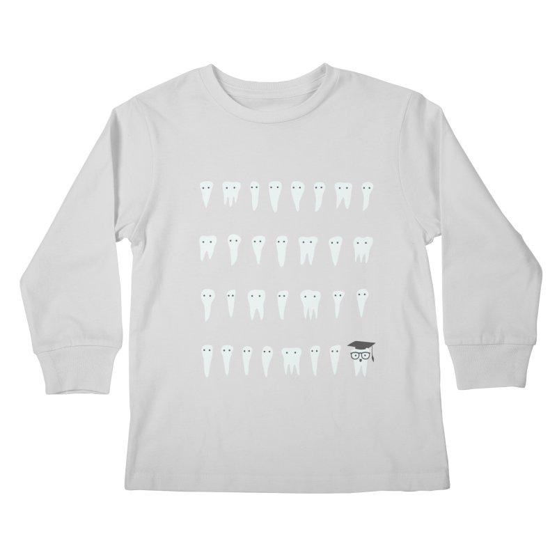 Wisdom Tooth Kids Longsleeve T-Shirt by ilovedoodle's Artist Shop