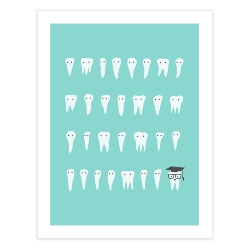 Wisdom Tooth Home Fine Art Print by ilovedoodle's Artist Shop