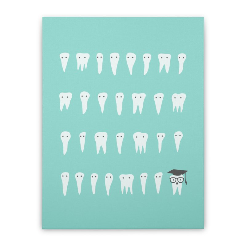 Wisdom Tooth Home Stretched Canvas by ilovedoodle's Artist Shop