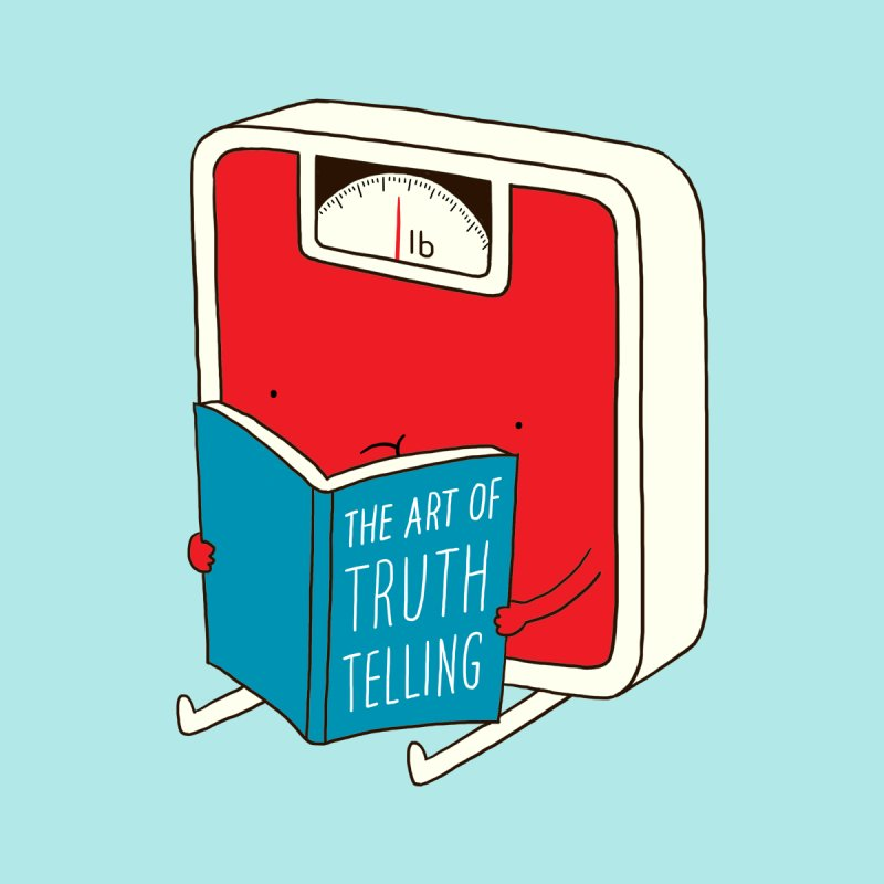 The art of Truth Telling by ilovedoodle's Artist Shop