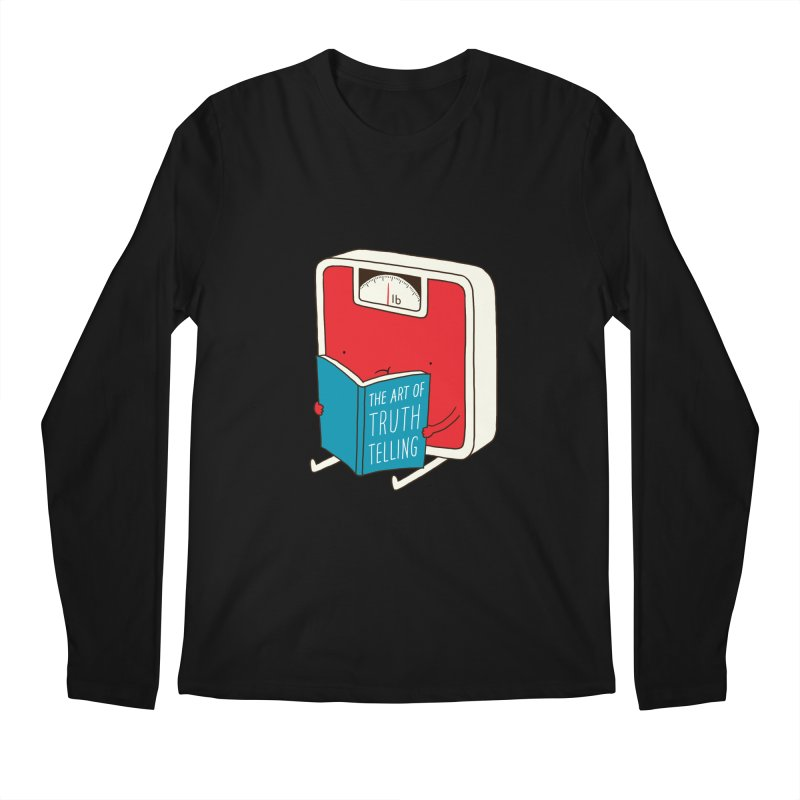 The art of Truth Telling Men's Longsleeve T-Shirt by ilovedoodle's Artist Shop