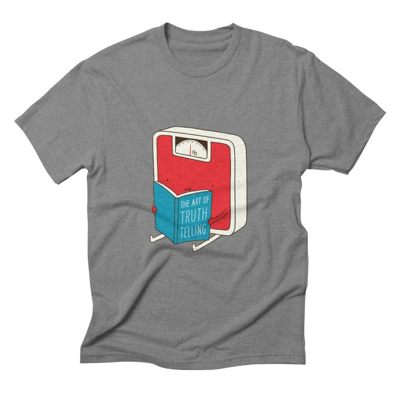 The art of Truth Telling Men's Triblend T-shirt by ilovedoodle's Artist Shop