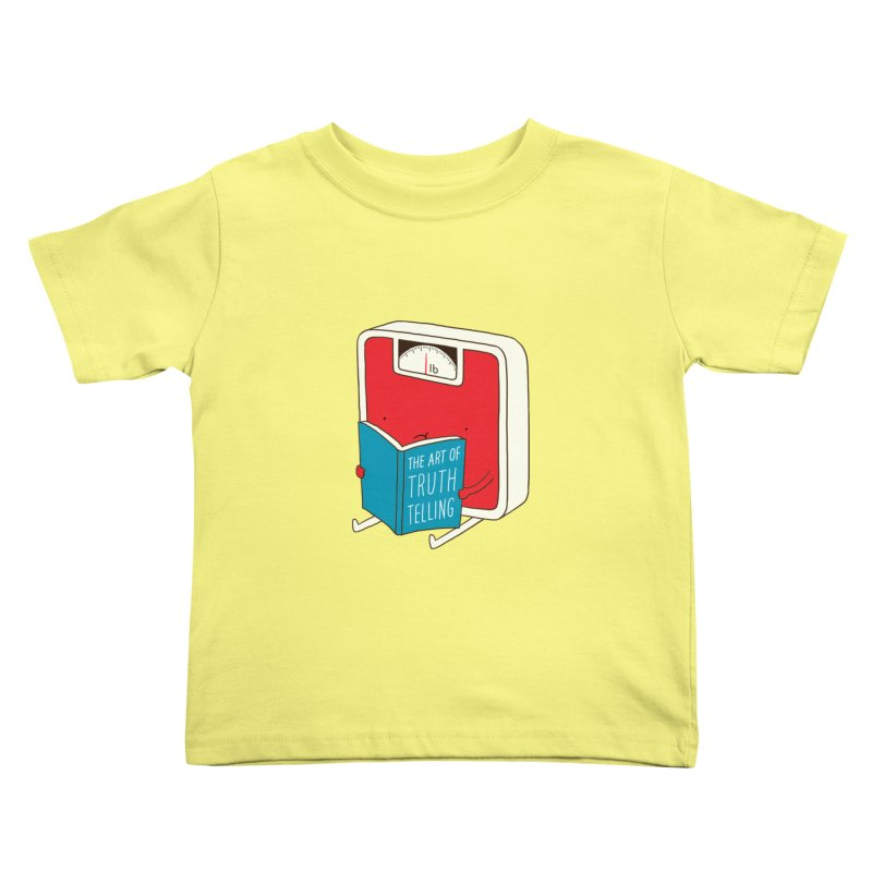 The art of Truth Telling Kids Toddler T-Shirt by ilovedoodle's Artist Shop