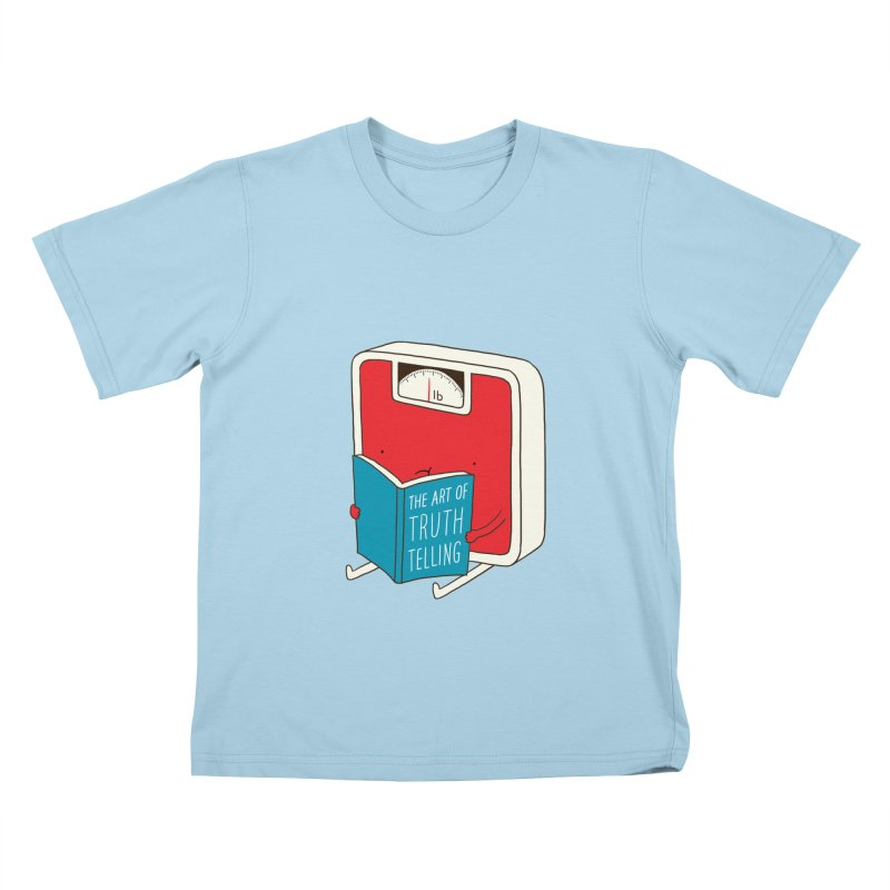 The art of Truth Telling Kids T-shirt by ilovedoodle's Artist Shop
