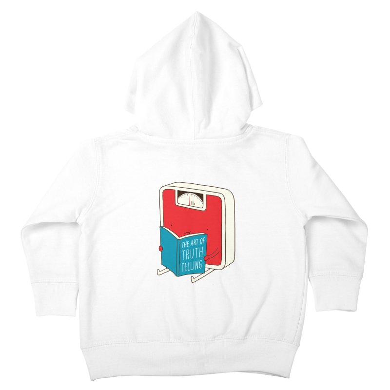 The art of Truth Telling Kids Toddler Zip-Up Hoody by ilovedoodle's Artist Shop