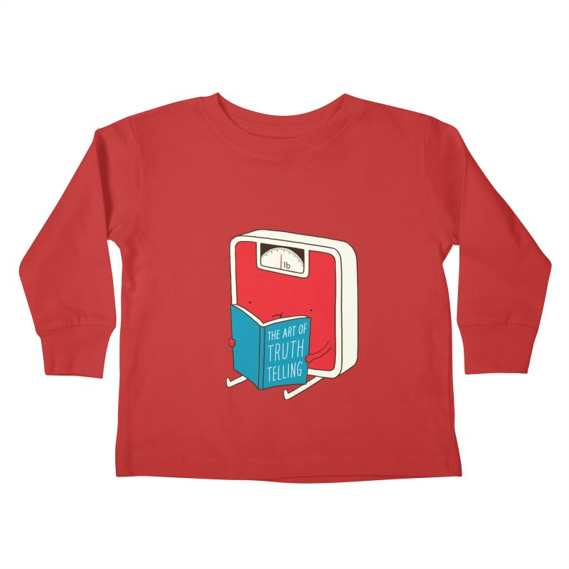 The art of Truth Telling Kids Toddler Longsleeve T-Shirt by ilovedoodle's Artist Shop