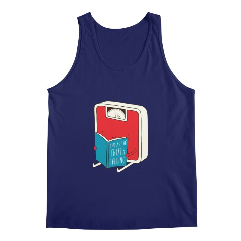 The art of Truth Telling Men's Tank by ilovedoodle's Artist Shop