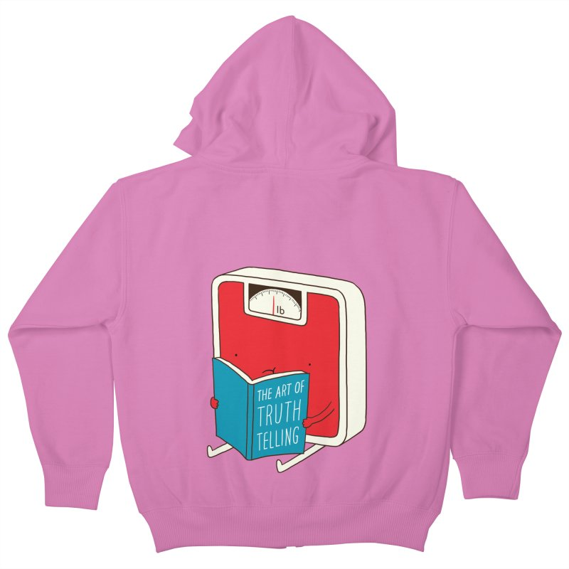 The art of Truth Telling Kids Zip-Up Hoody by ilovedoodle's Artist Shop