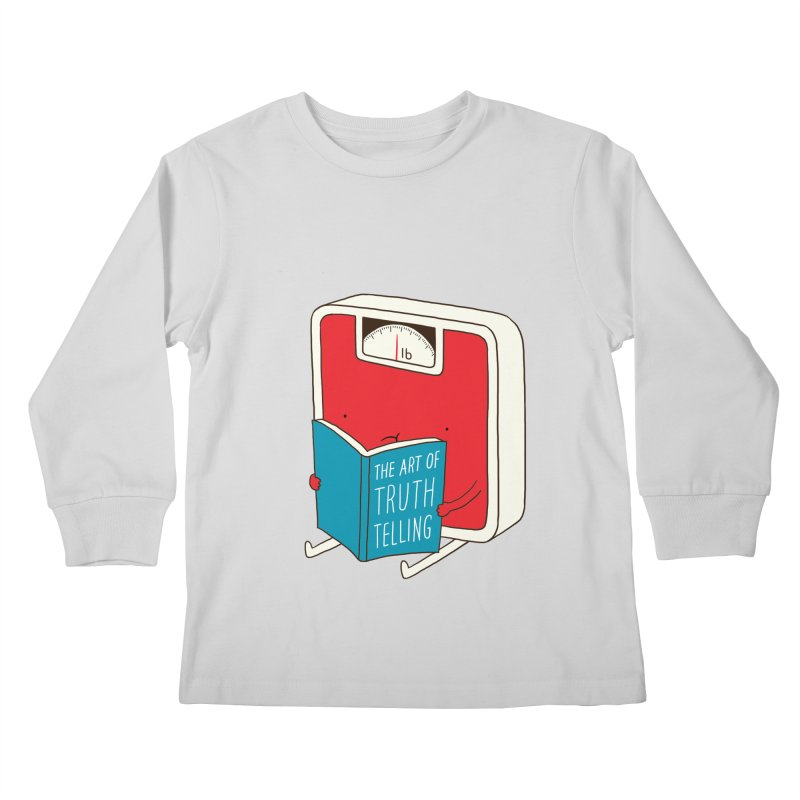 The art of Truth Telling Kids Longsleeve T-Shirt by ilovedoodle's Artist Shop