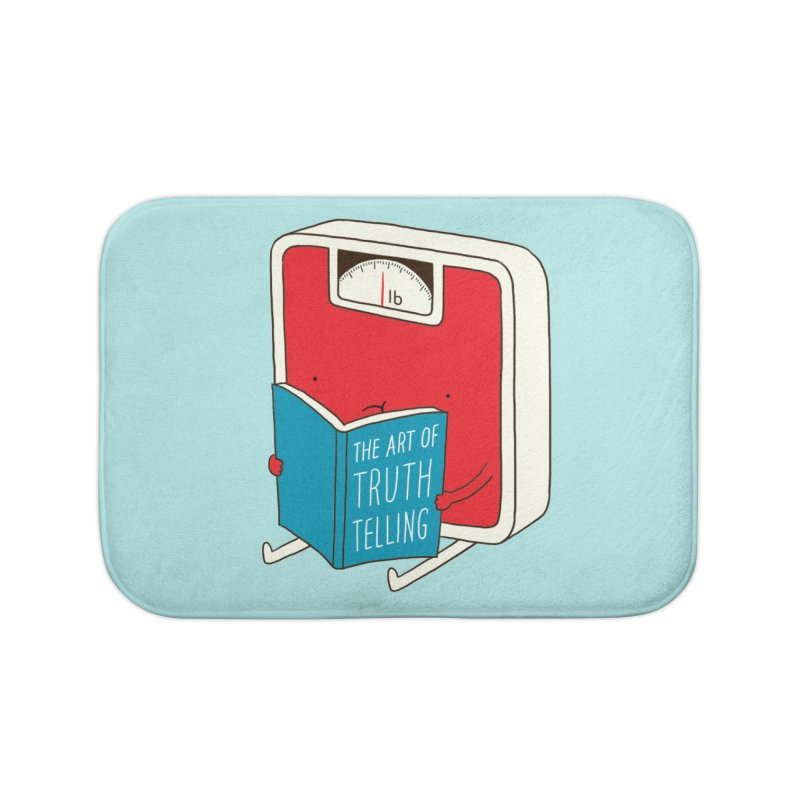 The art of Truth Telling Home Bath Mat by ilovedoodle's Artist Shop