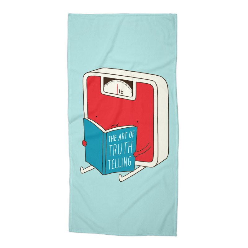The art of Truth Telling Accessories Beach Towel by ilovedoodle's Artist Shop