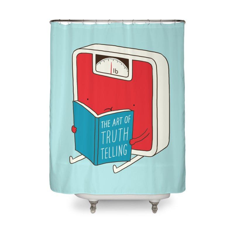 The art of Truth Telling Home Shower Curtain by ilovedoodle's Artist Shop