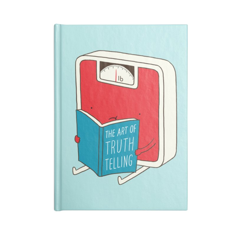 The art of Truth Telling Accessories Notebook by ilovedoodle's Artist Shop
