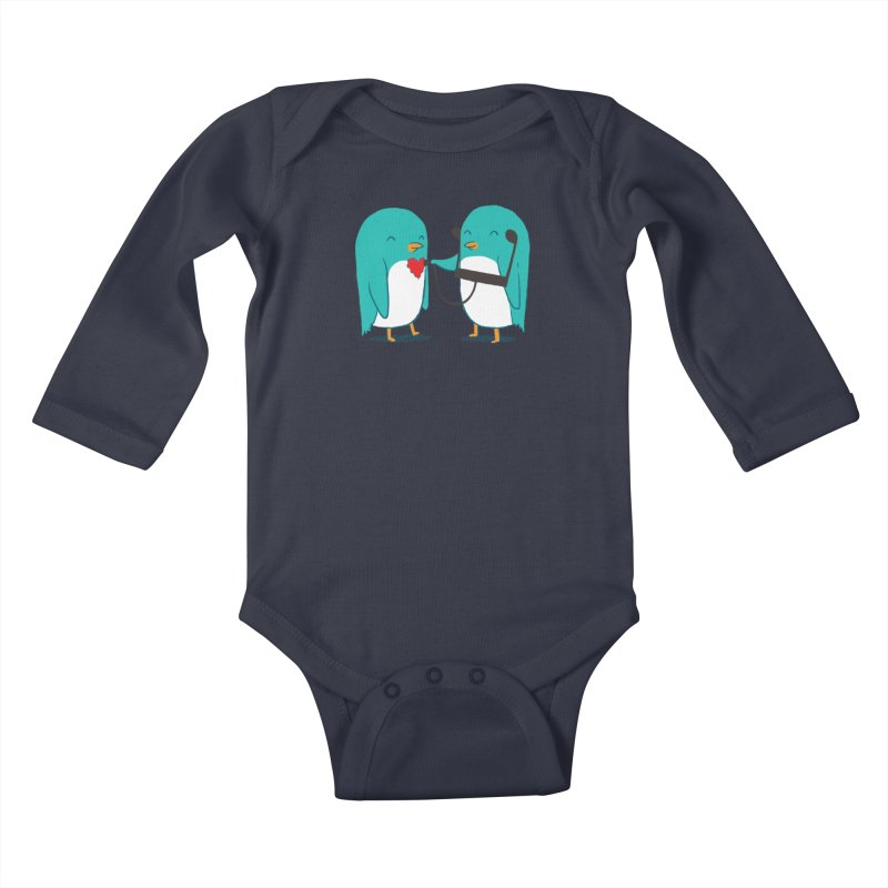 The Sound of Love Kids Baby Longsleeve Bodysuit by ilovedoodle's Artist Shop