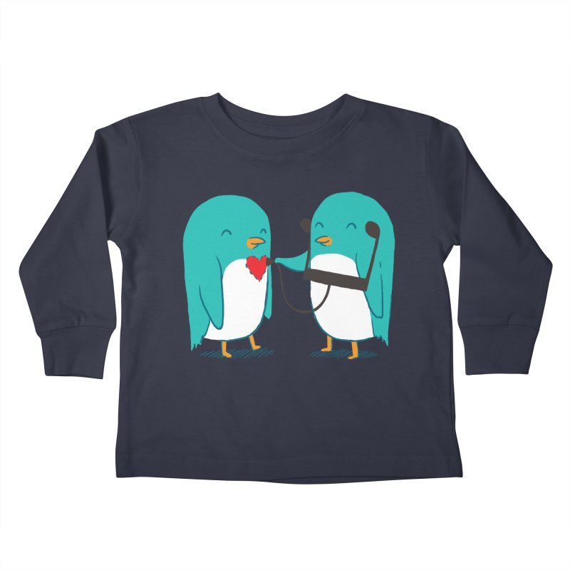 The Sound of Love Kids Toddler Longsleeve T-Shirt by ilovedoodle's Artist Shop