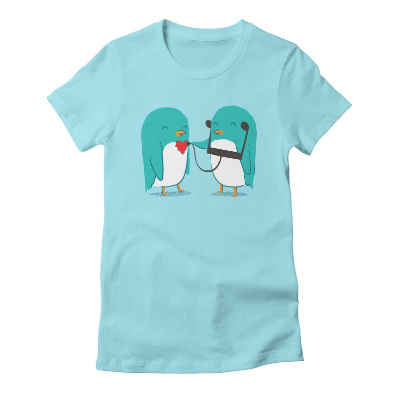 The Sound of Love Women's Fitted T-Shirt by ilovedoodle's Artist Shop