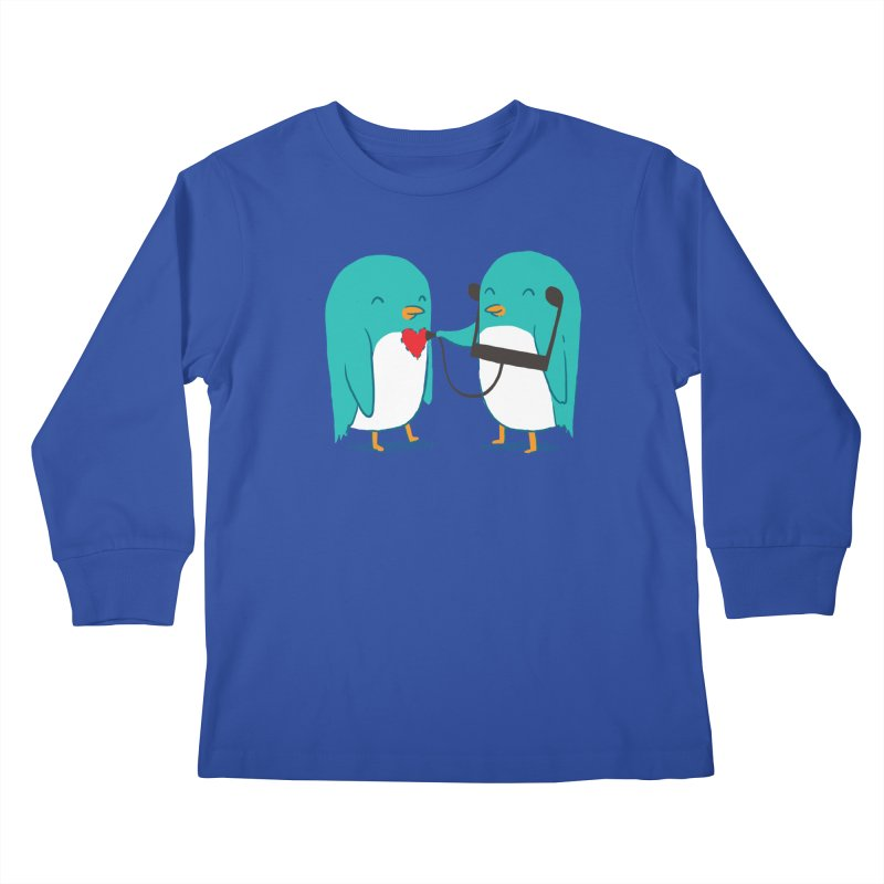 The Sound of Love Kids Longsleeve T-Shirt by ilovedoodle's Artist Shop
