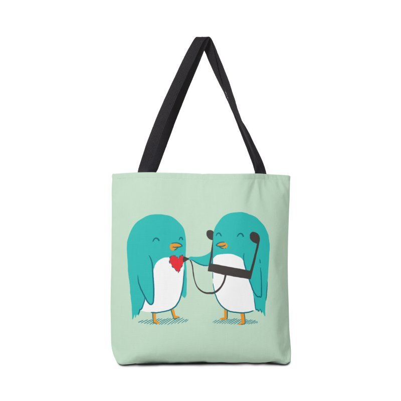 The Sound of Love Accessories Bag by ilovedoodle's Artist Shop