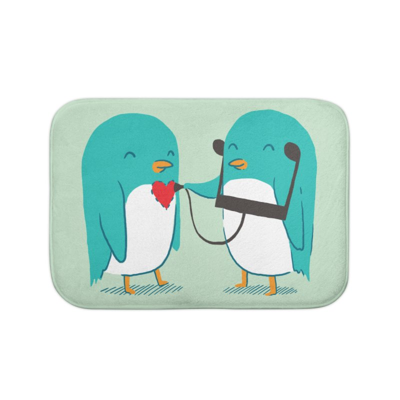 The Sound of Love Home Bath Mat by ilovedoodle's Artist Shop