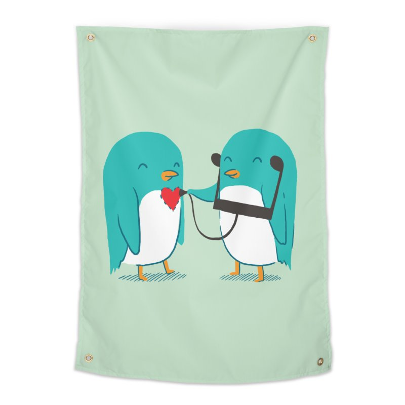 The Sound of Love Home Tapestry by ilovedoodle's Artist Shop
