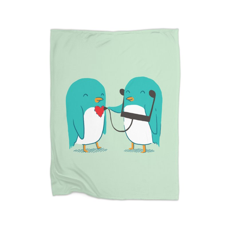 The Sound of Love Home Fleece Blanket by ilovedoodle's Artist Shop