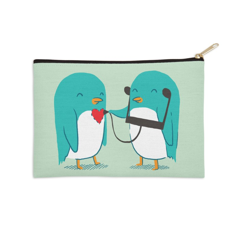 The Sound of Love Accessories Zip Pouch by ilovedoodle's Artist Shop