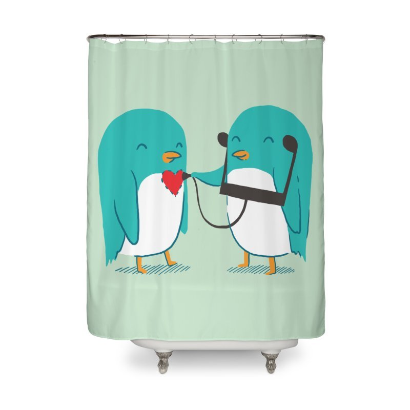 The Sound of Love Home Shower Curtain by ilovedoodle's Artist Shop