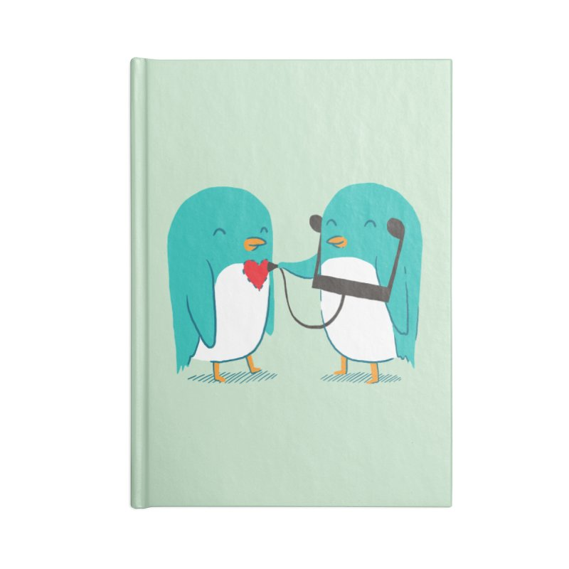 The Sound of Love Accessories Notebook by ilovedoodle's Artist Shop