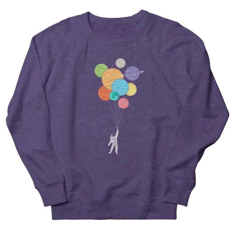 Planet Balloons Women's Sweatshirt by ilovedoodle's Artist Shop