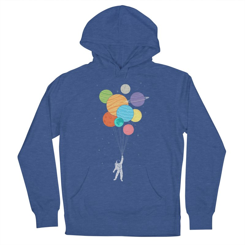 Planet Balloons Women's Pullover Hoody by ilovedoodle's Artist Shop
