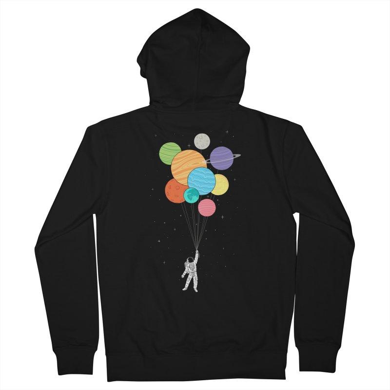 Planet Balloons Men's Zip-Up Hoody by ilovedoodle's Artist Shop