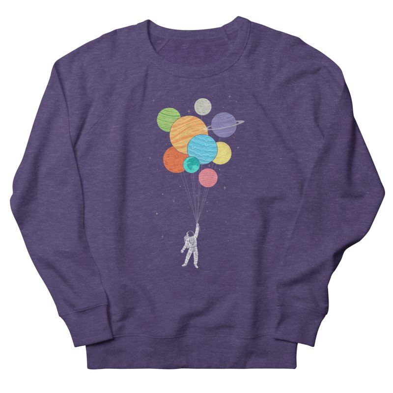 Planet Balloons Women's Sweatshirt by ilovedoodle's Artist Shop