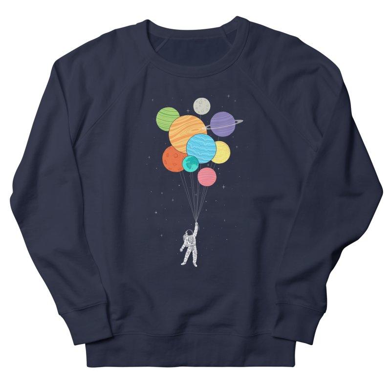 Planet Balloons Men's Sweatshirt by ilovedoodle's Artist Shop