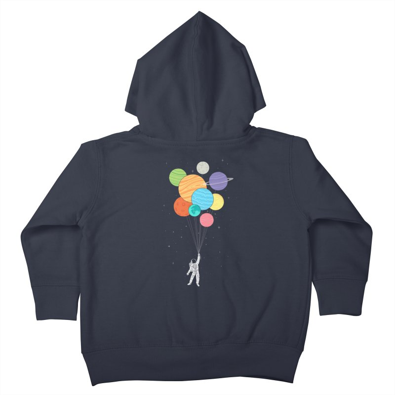 Planet Balloons Kids Toddler Zip-Up Hoody by ilovedoodle's Artist Shop