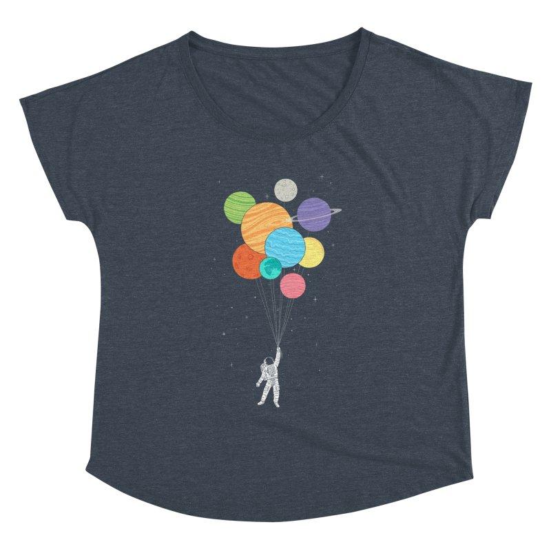 Planet Balloons Women's Dolman by ilovedoodle's Artist Shop