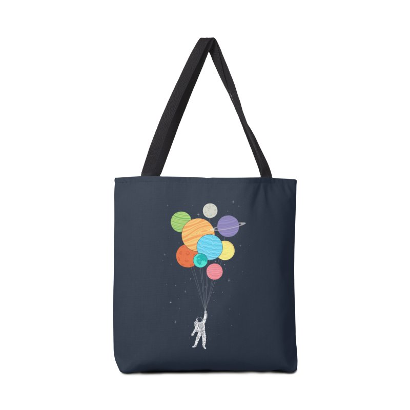 Planet Balloons Accessories Bag by ilovedoodle's Artist Shop